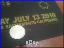 TooL concert poster-Sacramento CA 7/13/10 artwork/Adam Jones print Arco arena