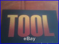 TooL concert poster-Sacramento, CA Arco arena 7/14/10 artwork/Adam Jones 2010