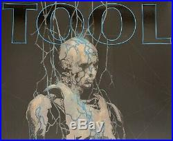 Tool Poster cleveland 2019 concert tour limited edition of 700 fear inoculum