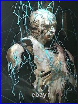 Tool Poster cleveland artist proof 2019 concert tour 12/40 rare fear inoculum