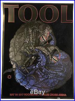 "Tool band 17/""x26/"" poster print"