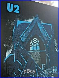 U2 Nashville TN MAY 2018 Official Concert Poster Print Bridgestone Arena bono