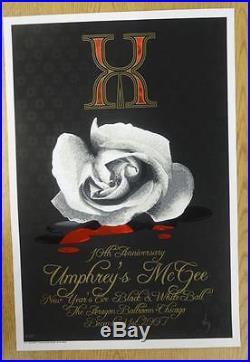 Umphrey's Mcgee Chicago 2007 Original Concert Poster Silkscreen Jeff Wood