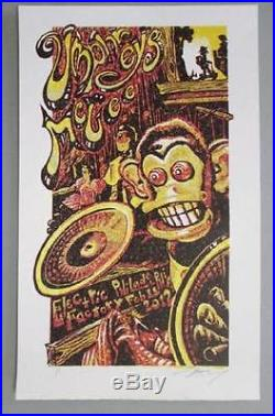 Umphrey's Mcgee Philadelphia 2012 Original Concert Poster Masthay Variant 1/1