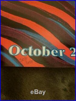 Unsigned TOOL Concert Poster Tulsa, OK 10/29/2019 Rare Alex Grey Print