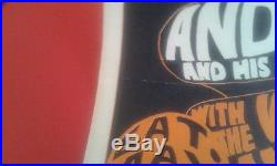 Velvet Underground Nico Andy Warhol Pop Bg 8 Concert Poster Zappa Mothers Aor