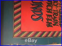 Vtg Org 1969 Gary Grimshaw Art Concert Poster/1st Annl Detroit Rock-roll Revival