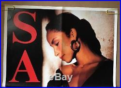 Vintage Poster Sade Promise World Tour 86 Pin-up 1980s Music Concert Promo Ad