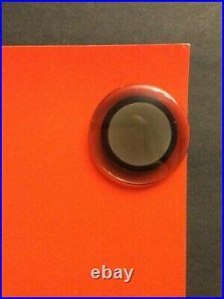 WOODSTOCK ORIGINAL VINTAGE 1969 CONCERT POSTER 36x24 SIGNED AUTOGRAPHED ARTIST