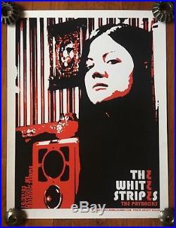 White Stripes 2003 Concert Poster -artist ROB JONES, Silkscreen KRUSTY KOLOR