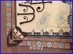 Widespread Panic Status Serigraph Southaven Concert Poster Print S/N 2013