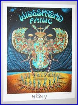 Widespread Panic Wsp Charlotte 2012 Emek Silkscreen Concert Poster Original Nye